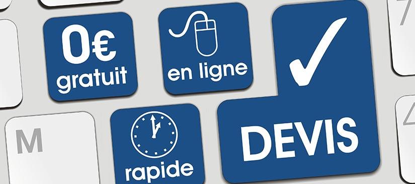 demander devis en ligne store banne à Rouen